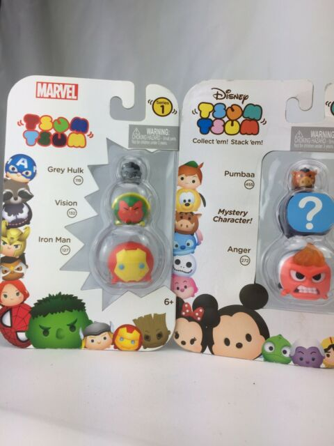 Disney Tsum Tsum Mystery Bag ANGER in Sealed Bag Medium size