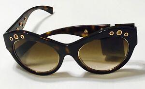 1cc57c7b6ac5 Versace Sunglasses VE4320 108 13 Havana Frames Brown Gradient Lens ...