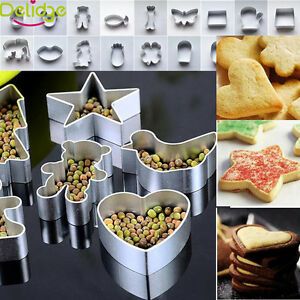 41 Style Aluminum Fondant Cake Decroation Cookies Cutter Biscuit Baking Mold