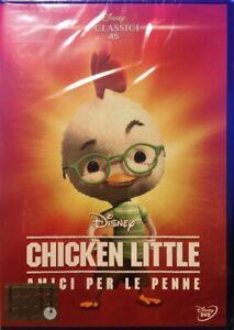 CHICKEN-LITTLE-I-Classici-n-45-Dvd-Walt-Disney-NUOVO