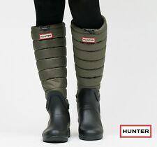 New Hunter Original Quilted Leg Puffer Rain Boot Size US 10