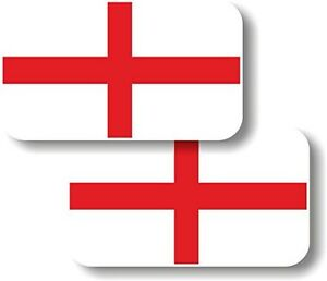 Vinyl-sticker-decal-Small-70mm-St-George-England-flag-pair