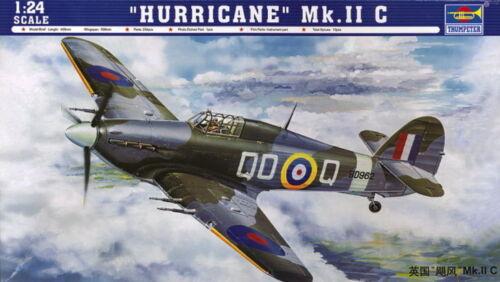 IIC Neu Trumpeter 02415-1:24 Hurricane Mk