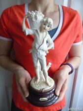 """Guiseppe Armani Florence Market Day Figurine Little Country Boy with Grapes 11"""""""