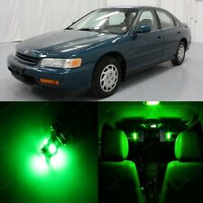 10  Super Green Lights Interior Package For Honda ACCORD 1994 - 1997 Coupe Sedan