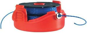 BLACK-DECKER-A6442-XJ-Dual-Line-Auto-Feed-Replacement-Spool-And-Cap-Pre-Wound