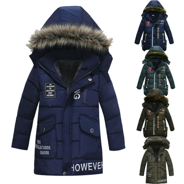 OLIVE iXtreme Little Boys/' Camo Print Winter Puffer Jacket