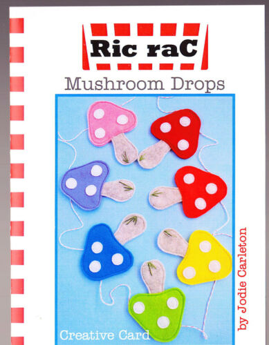 cute and easy mini PATTERN PATTERN Creative Card Mushroom Drops
