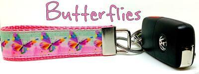 "Gumby /& Pokey Key Fob Wristlet Keychain 1/""wide Zipper pull Camera strap handmade"