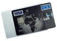 3 - 25 X Kartenhüllen Transparent Stabil Magnetkarten Schutzhülle Ausweis