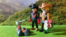 PLAYMOBIL ADULTE COUPLE BROKEBACK MOUNTAIN FILM GAY HOMO ANNIE PROULX LGBT RARE