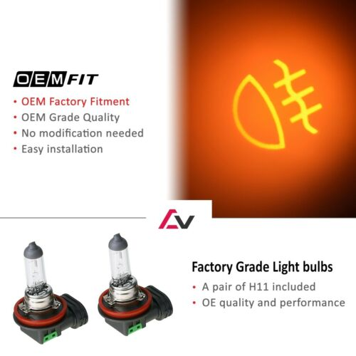 Details about  /07-09 For Toyota Camry Clear Lens Pair Bumper Fog Light Lamp+Wiring+Switch Kit