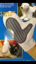 Pet Grooming Massage Glove / Brush For Dogs And Cats