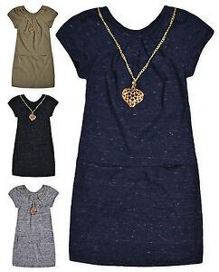 Filles-a-Manches-Courtes-Haut-Tunique-Robe-Neuf-Enfants-Coton-Robes-Age-3-4-5-6-ans