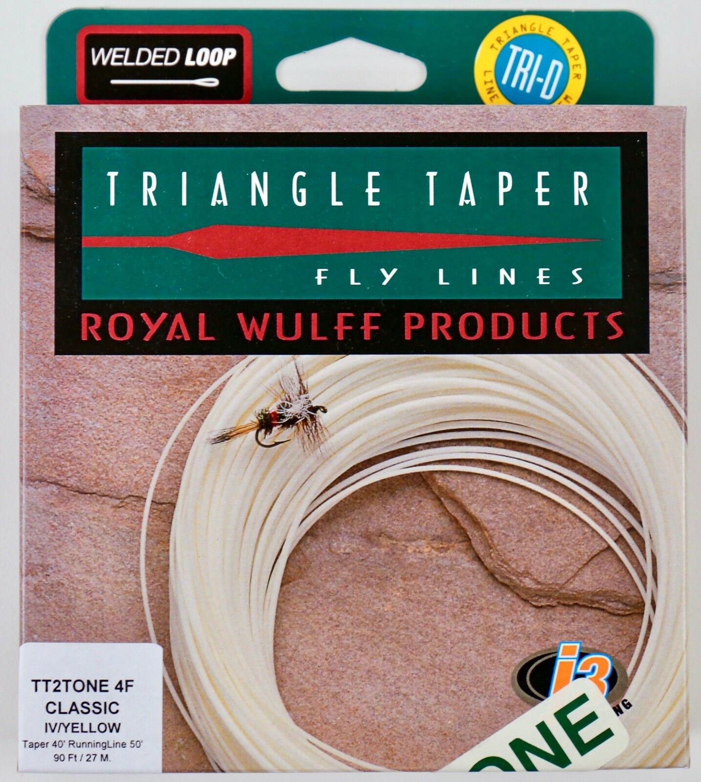 Royal Wulff Triangle Taper Classic 4 WT Floating Fly Line Free Fast Ship TT2T4F