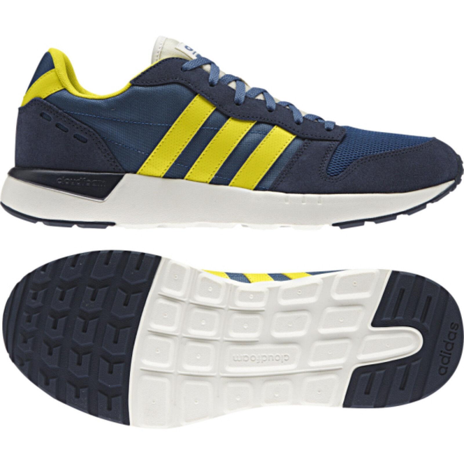 ADIDAS CLOUDFOAM CITY RACE conavy/yellow AW4067  NEO  Sneaker Sportschuhe