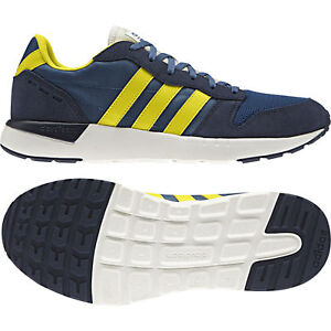ADIDAS cloudfoam City RACE conavy/Yellow aw4067 NEO Sneaker Scarpe Sportive