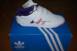 Cf Schoolstar Adidas Velcro Scarpe Originali Bianco wf7457q
