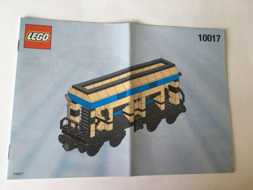 Lego Bauanleitung 10017 only instruction, no bricks