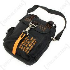 4fe0597ba9c60 Artikel 8 Black Para Messenger Bag - Satchel Shoulder Military Pilot  Airforce Nylon New -Black Para Messenger Bag - Satchel Shoulder Military  Pilot Airforce ...