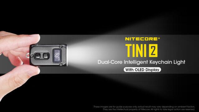 NITECORE TINI2 500 Lumens Keychain Flashlight