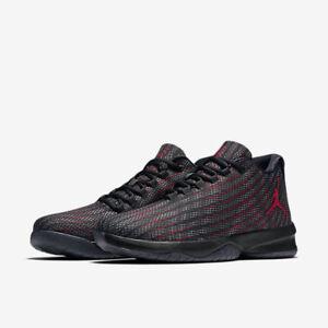 881444-005 Men s Air Jordan B.Fly Black Dark Grey-Gym Red NIB Sizes ... e4f8b2995