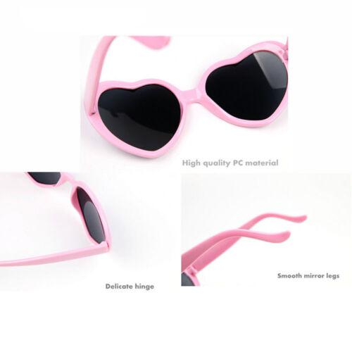 Women Ladies Trendy Love Heart Shaped Sunglasses Eyeglasses Outdoor Summer HOT