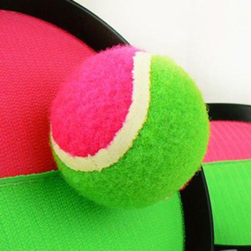 Scatch Velcro Throw & Catch Ball Game Set Beach Garden Play Fun Novelty Toy Gift