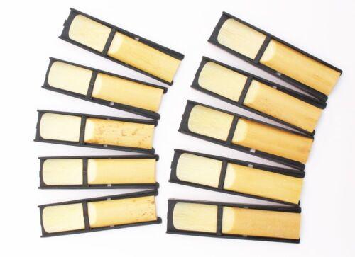 Saxophone /& Klarinette in 2 Stärken 10er Box Blätter Reeds für versch