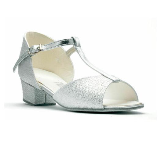 Gold Lame Topline Hollie child ballroom/latin dance shoes - all sizes