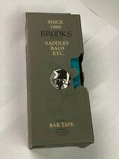 Brooks Turquoise Leather Handlebar Tape