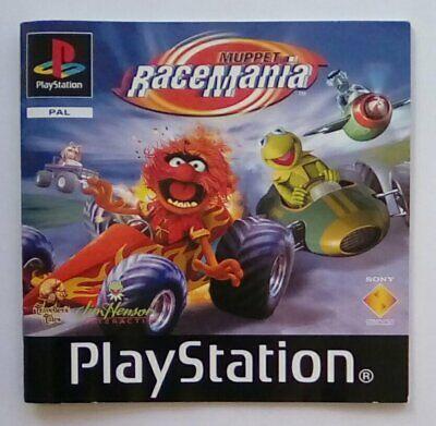 *instructions Only* Muppet Racemania Race Mania Playstation One 1 Psone Ps1 Ps Geschikt Voor Mannen, Vrouwen En Kinderen