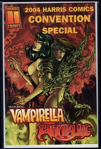 Modeste Us Harris Comics Convention Special 2004 Witchblade Vampirella Comme Neuf Neuf Aspen-afficher Le Titre D'origine