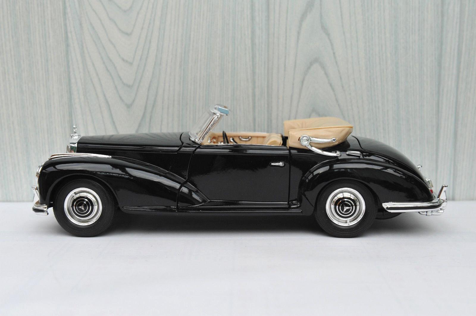 MERCEDES BENZ 300 S CABRIO 1955 MAISTO SPECIAL EDITION 1 18 31806 SUPERBE