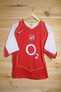 Arsenal-2004-05-Home-Shirt-9-Reyes-Medium