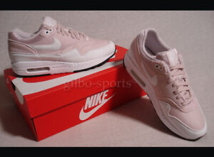 Nike Wmns Air Max 1 Barely Rose white weiße Schuhe Kaufen