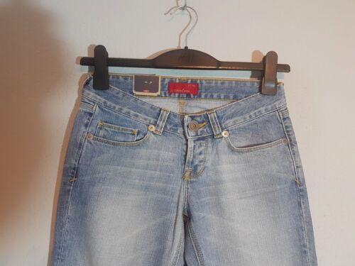 CROSS Damen Hüft-Jeans E-449-052  Bootcut  W25-W32  hellblau  NEU mit Etikett
