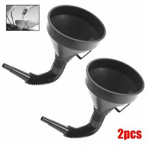 Automotive Fuel Funnel,Plastic Funnel Set For Automotive Oil And Household Uses