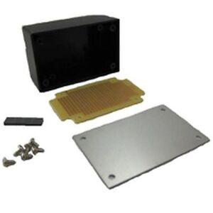 project box with aluminium cover amp matrix board pcb rh ebay co uk