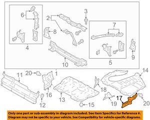 image is loading scion-toyota-oem-fr-s-splash-shield-under-