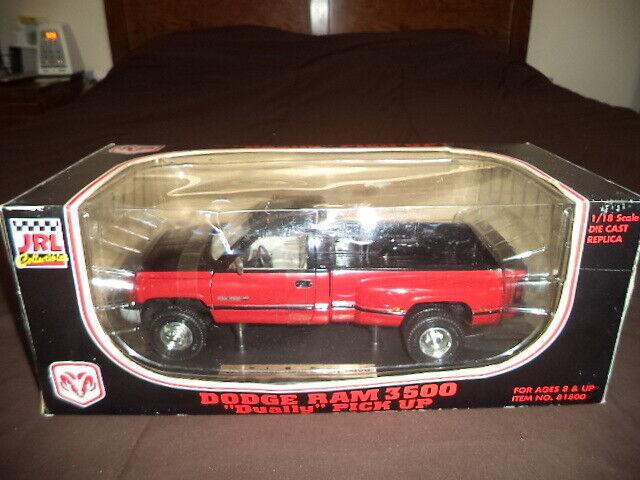 Jrl Toys Diecast Model 1995 Dodge Ram 3500 Dually V10 Magnum Pickup Truck