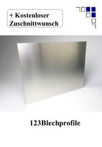 4mm Edelstahl V2A Platten 100 mm bis 2000 mm Edelstahlblech Bleche Zuschnitt
