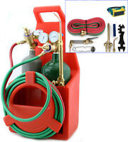 Professional Tote Oxygen Acetylene Oxy Welding Cutting Torch Kit With Tank on sale