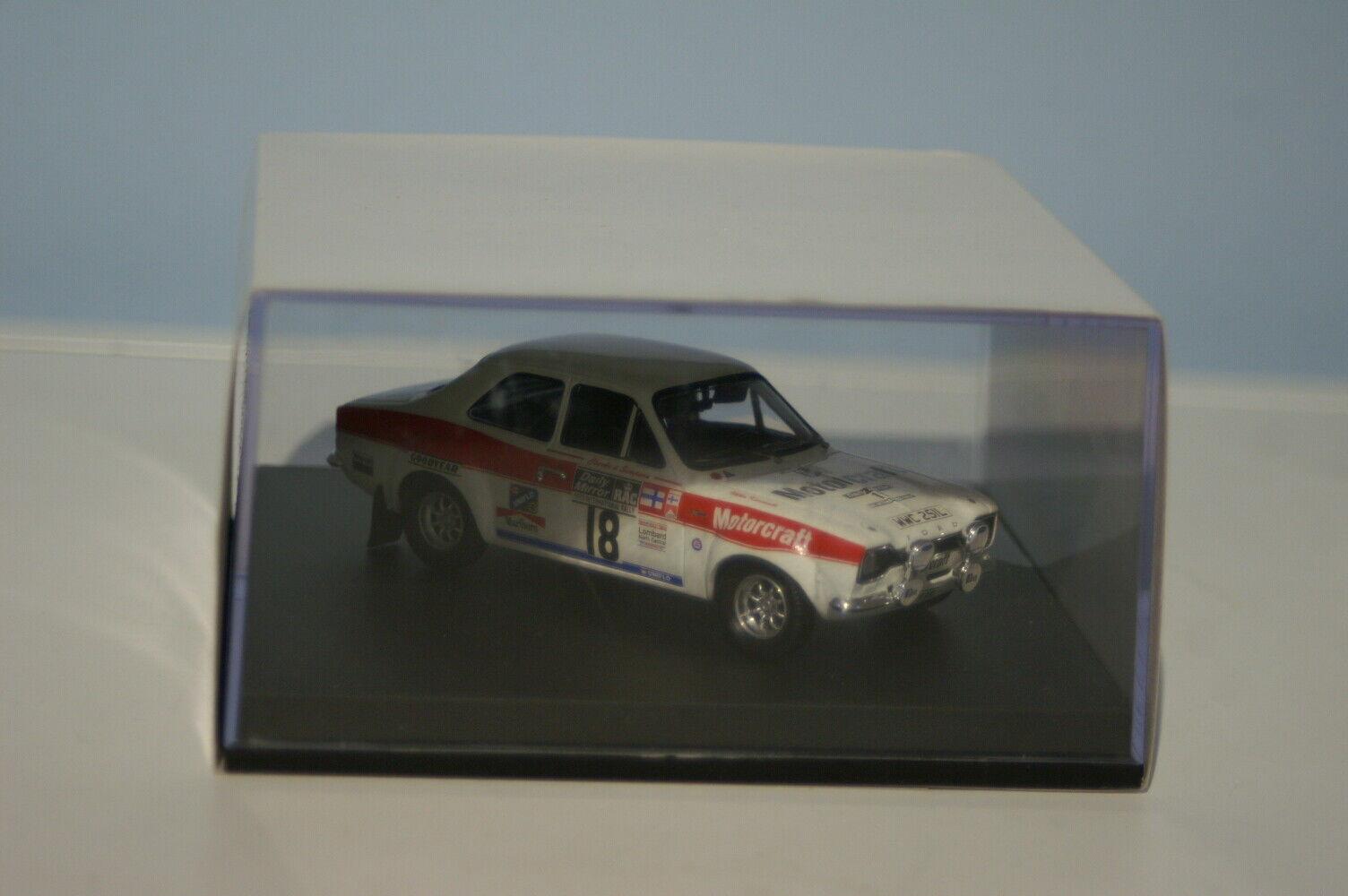 Trofeu Ford Escort RS1600 M. ALEN RALLY RAC código 1973 3 PJ69