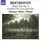Beethoven: Piano Trio No. 3; Symphony No. 2 (Arr. for Piano Trio) (CD, Jun-2009, Naxos (Distributor))