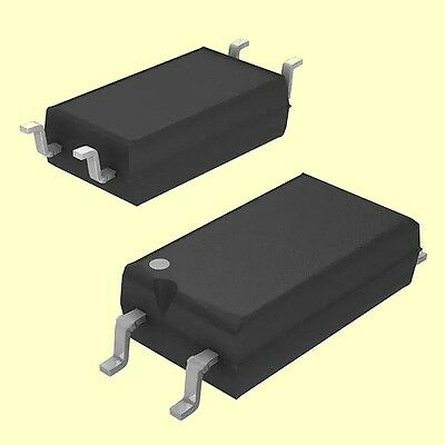 2 pcs TCLT1003  Vishay  Optokoppler 5KV 1-Channel  70V  50mA  SOP4  NEW