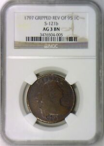 1797-Gripped-Edge-Rev-of-95-Large-Cent-NGC-AG-3-Good-Obverse