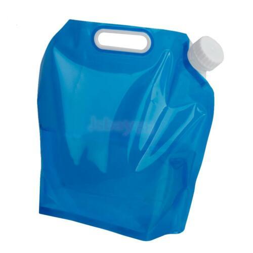 10L Portable Folding Drinking Water Bag Outdoor Camping Bladder Reservoir 5L