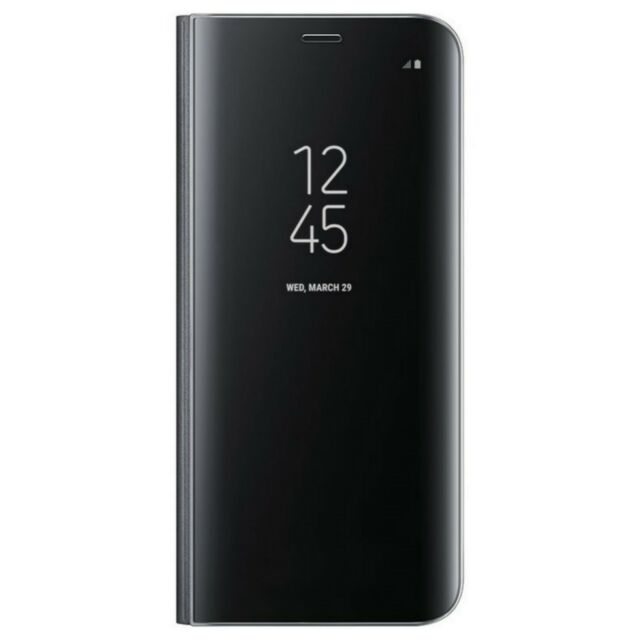 Custodia Cover Clear View Nero Originale Samsung Galaxy S8 Plus SM-G955 BULK