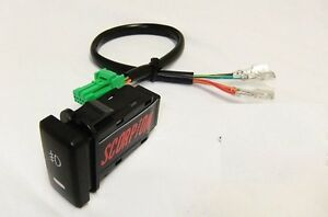 TOYOTA TACOMA FOG LIGHT SWITCH & HARNESS ADAPTER FOR A KC / HELLA  HARNESS